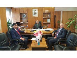 Başkan Yalçın Bursa Karayolları 14.bölge Müdürünü Ziyaret Etti