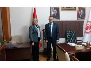 Rektör Kılıç, AK Parti Milletvekillerine Hayırlı Olsun Ziyaretinde Bulundu