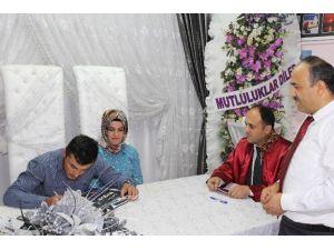 Beyşehir'de 2015'te 535 Çift Dünya Evine Girdi