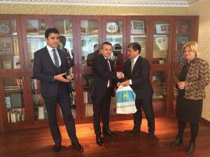 Büyükelçiler Mesir Festivaline Davet Edildi
