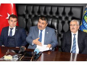 Kocasinan İlçe Ziraat Odası Ankara'ya Projelerini Sundu