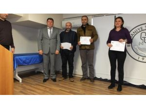 Burhaniye'de Genç Girişimcilere Sertifika