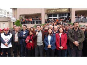 Mersin'de HDP'li Belediye Başkanının Gözaltına Alınması Protesto Edildi