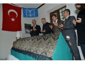Osman Gazi'nin yeğeni Aydoğdu Bey'in türbesini restore edildi