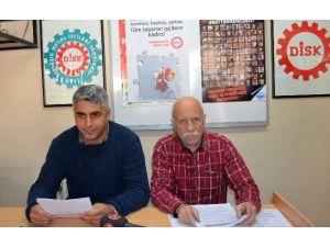 """Taşeron""""un Kaldırılması İçin Toplanan İmzalar Çalışma Bakanlığı'na Verilecek"""