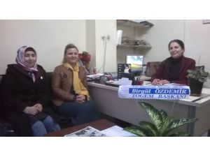 Bayan Başkanlardan CHP Kadın Kolları Başkanına Ziyaret