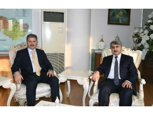 Adalet Bakanlığı Müsteşar Yardımcısı Menteş, Başkan Çakır'ı Ziyaret Etti