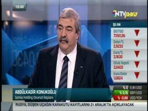 Sanko Onursal Başkanı Abdulkadir Konukoğlu: