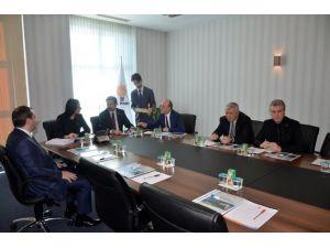 Başkan Öztürk Ve Beraberindeki Heyet Ankara'da Ziyaretlerde Bulundu