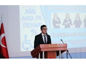 Ağrı İbrahim Çeçen Üniversitesi'nde engelli farkındalığı konferansı düzenlendi
