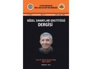 Atatürk Üniversitesi Güzel Sanatlar Enstitüsü Dergisi, TÜBİTAK Sosyal Ve Beşeri Bilimler Veri Tabanı'na Alındı