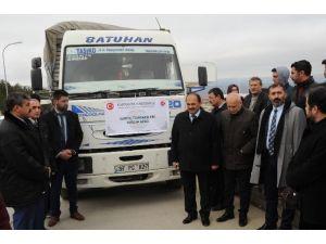 Kastamonu Üniversitesinden, Suriyeli Türkmenlerine Yardım