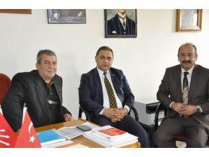 Gürün Belediye Başkanı Çiftçi'den, CHP İlçe Başkanı Küçük'e Ziyaret