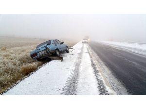 Karaman'da Aşırı Buzlanma Kazalara Yol Açtı