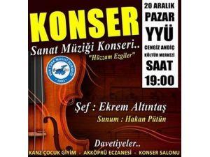 Van Türk Musıki Derneği Konsere Hazır!