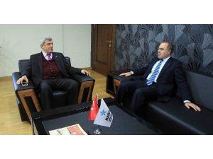 Başkan Karaosmanoğlu'ndan, Marka'ya Ziyaret