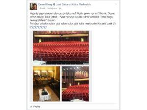 Ünlü tiyatrocu bu kez salonu beğendi: Salon gibi salon, kulis gibi kulis