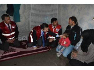 Siirt'teki Mültecilere Yardım Eli