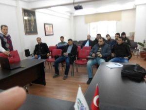 Özel Güvenlikçilere Dolandırıcılara Karşı Dikkat Eğitimi Verildi
