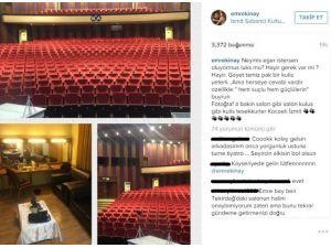 Emre Kınay'dan, Kocaeli'deki Kültür Merkezi'ne Övgü