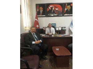 Başkan Uysal'dan Uslu'ya Nazik Ziyaret