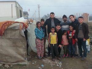 Çadırda Yaşayan Şaşkın Ailesinin Durumu Aydınlıları Harekete Geçirdi