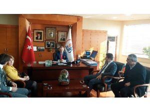 Makedonya Devlet Bakanı Furkan Çako, Bayrampaşa Belediyesi'ni Ziyaret Etti