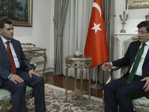 Başbakan Davutoğlu, Aylan bebeğin babasını kabul etti
