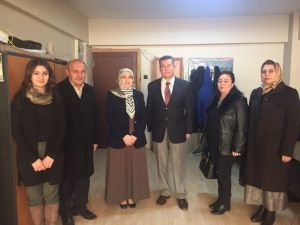 AK Partili Kadınlardan İHA'ya Ziyaret