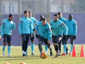 Osmanlıspor'da Beşiktaş maçının hazırlıkları devam etti
