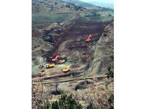 Yukarı Afrın Barajının Gövde Çalışmaları Hızlandı