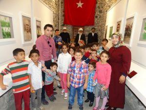 Minik öğrenciler İlkkurşun Müzesi'ni gezdi