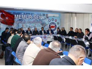 Milletvekili Mesten'den Eğitim Bir-sen'e Ziyaret