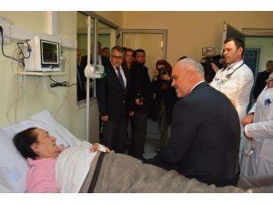 İşkodra Hastanesi Kardiyoloji Bölümü'ne Yoğun Bakım Ünitesi Kuruldu