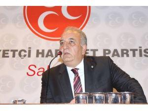 MHP'de Eski İl Ve İlçe Başkanları, Olağan Genel Kurultay Çağrısı Yaptı