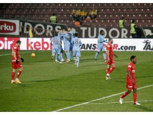 Trabzonspor: 1 – Antalyaspor: 0 (İlk yarı)
