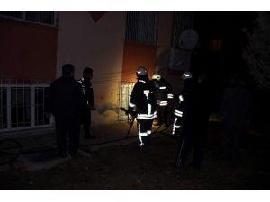 Çıkan Yangında Suriyelilerin Yaşadığı Ev Zarar Gördü