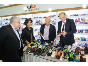Milletvekili Koçer'den Gapshoes Fuarı'na Tam Not