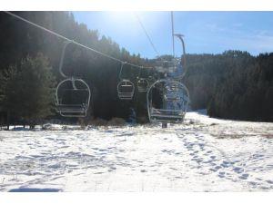 Kayak merkezlerinde hazırlıklar tamam, karın yağması bekleniyor