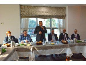 Başkan Çerçi, Basın Mensuplarını Ağırladı