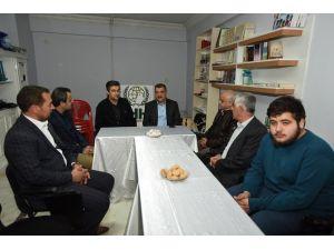 Başkan Gürkan, İHH'yı Ziyaret Etti