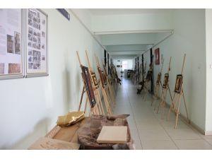 Tarım İl Müdürlüğü personelinden 'geleneksel ahşap oymacılık' sergisi
