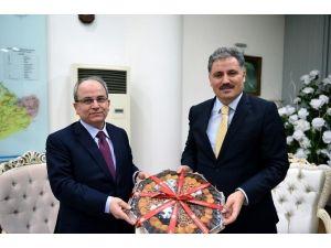HSYK Heyetinden, Başkan Çakır'a Ziyaret