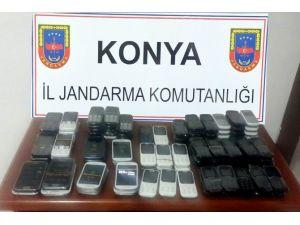 Ereğli'de 99 Adet Kaçak Telefon Ele Geçirildi