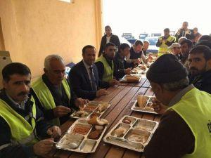 Başkan Toltar'dan Personeline Motivasyon Ziyareti