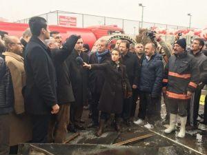 ATO Başkanı Bezci, Osmanlı Halk Pazarında İncelemelerde Bulundu