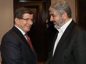 Başbakan Davutoğlu Halid Meşal ile görüştü
