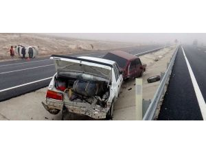 Aksaray'da Sis Ve Buzlanma Kazalara Neden Oldu