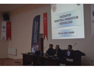 Gaziantep'te Denetim Serbestlik Paneli