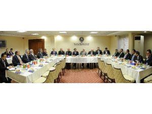 TBB Başkanı Hüseyin Aydın, KTO'yu Ziyaret Etti